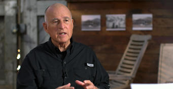 Governor Brown Criticizes President Trump For Climate Change Position As California Burns