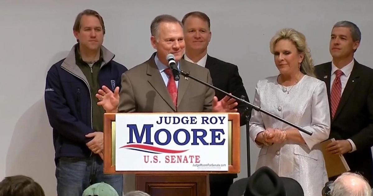 Roy Moore leads in Alabama Senate poll