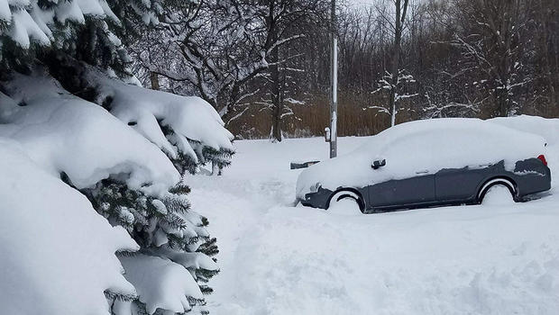 Erie, Pennsylvania gets record 34 inches of snow in 24 hours