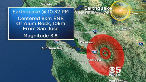 Natural disaster: 4.0 quake strikes near San Jose