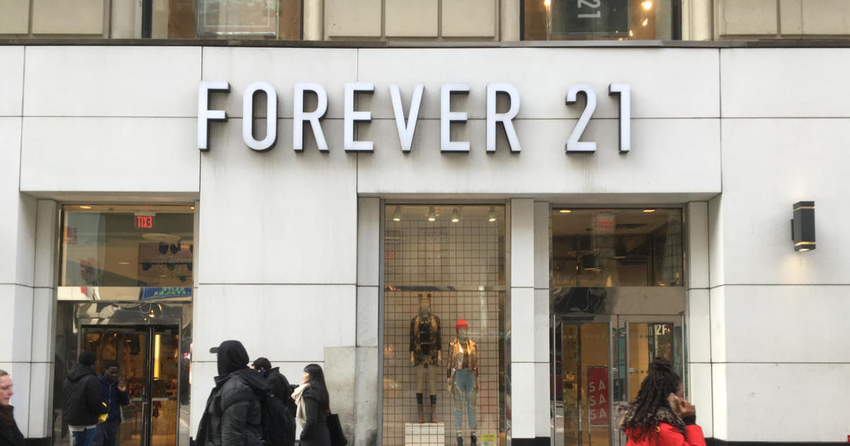 Forever 21: Style retailer declare Chapter 11 personal bankruptcy today - CBS News thumbnail