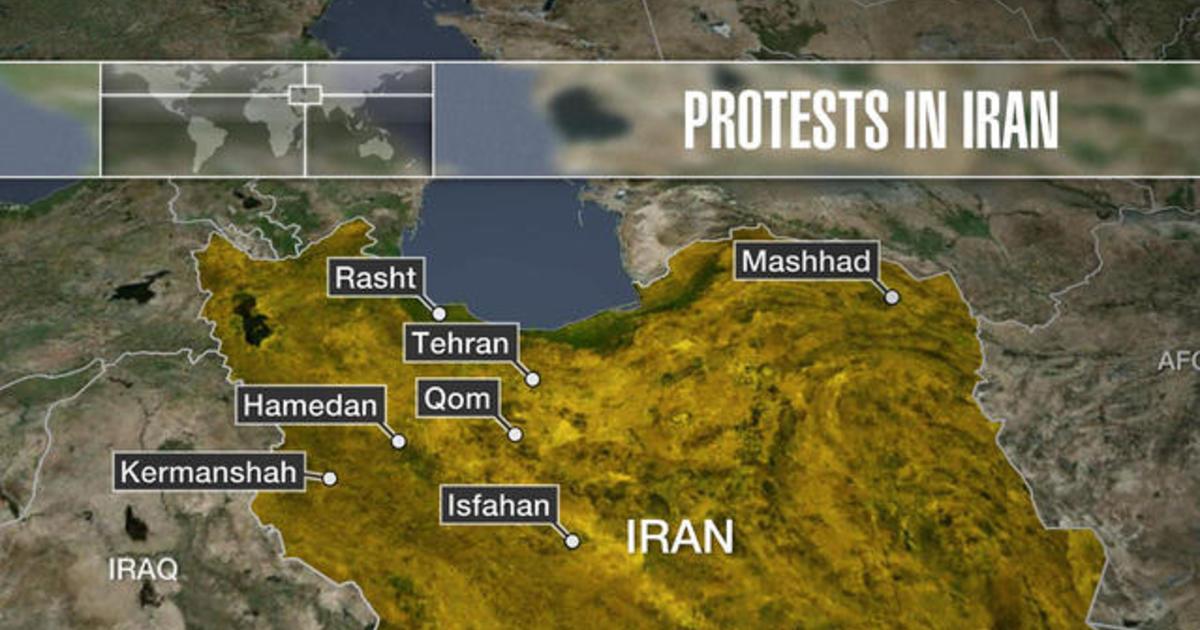 Protests spread across Iran CBS