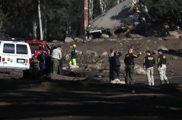 Mudslides Kill At Least 17 People In Santa Barbara County Where Wildfire Scorched Hillside