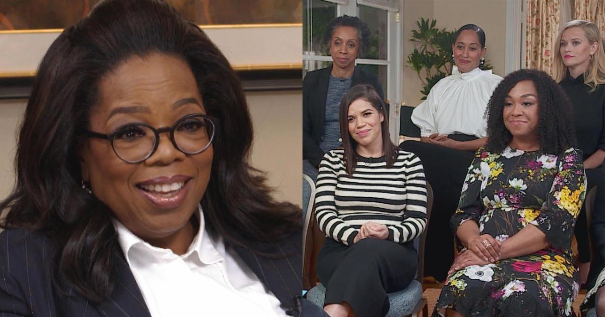 "Oprah Winfrey on ""Time's Up"": Where do we go from here ...  Oprah Winfrey o..."