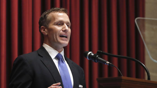 Missouri governor fighting for political life after affair
