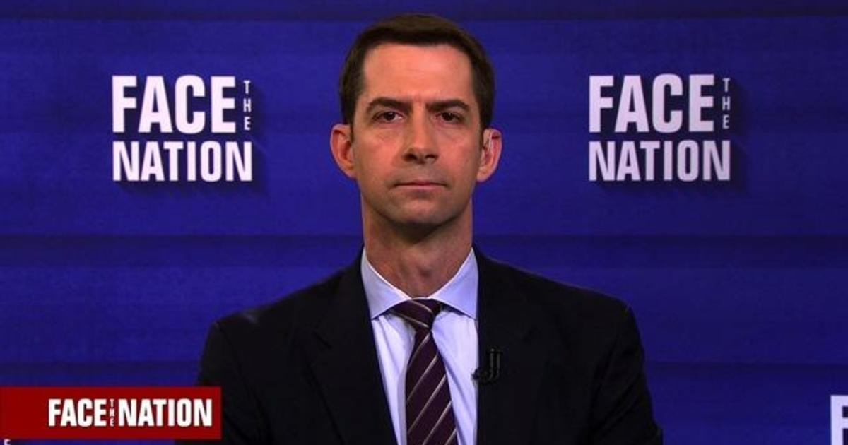 Sen. Cotton says he did not hear vulgar comments from ...