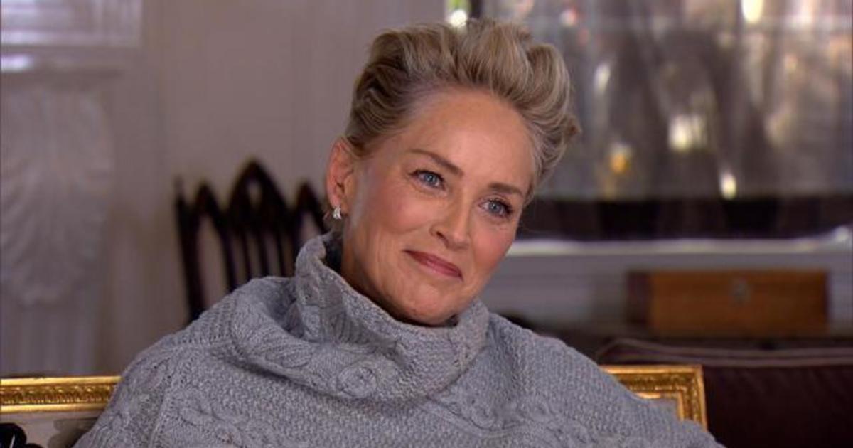 Sharon Stone On Second Chances Cbs News