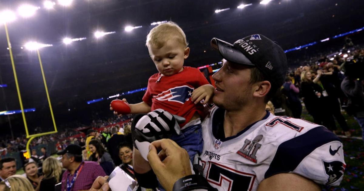 Patriots star Nate Solder's toughest battle happens off the field