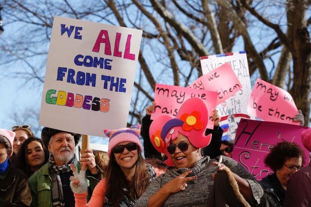 US-POLITICS-WOMEN'S-MARCH