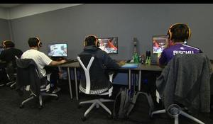 Video gaming gone professional with esports