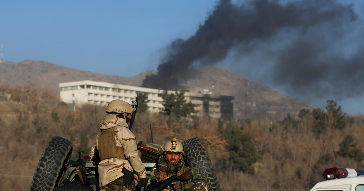 Kabul Intercontinental Hotel attack leaves at least 19 dead