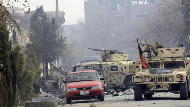 Afghanistan attack on save the children office in jalalabad leaves 1 dead cbs news - Save the children press office ...