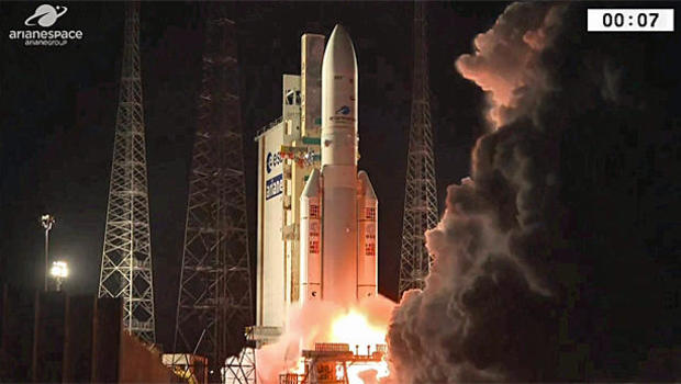Ariane 5 deploys two telecom satellites in orbit despite telemetry loss