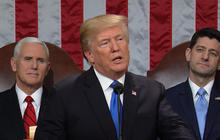 Trump gives his first State of the Union address