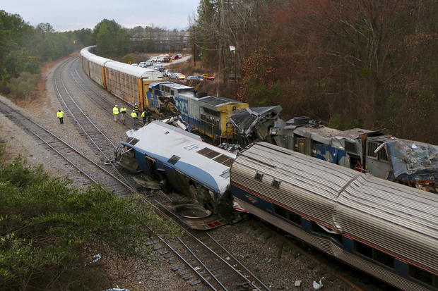 APTOPIX Train Crash South Carolina