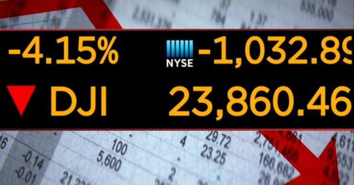 Stocks struggle to find footing, closing down for the week - CBS News
