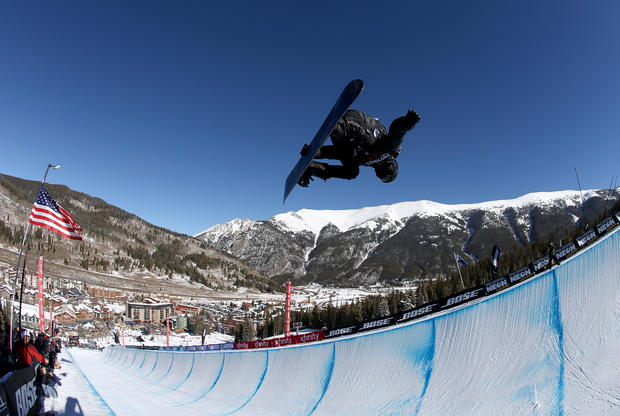 Shaun White - 2017 U.S. Snowboarding Grand Prix at Copper - Halfpipe Snowboarding Finals