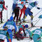 Cross-Country Skiing - Winter Olympics Day 2