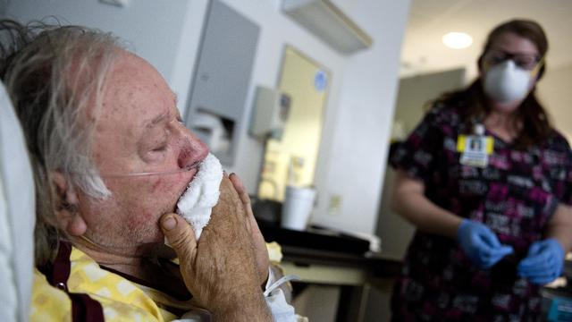 Flu Season - hospital patient