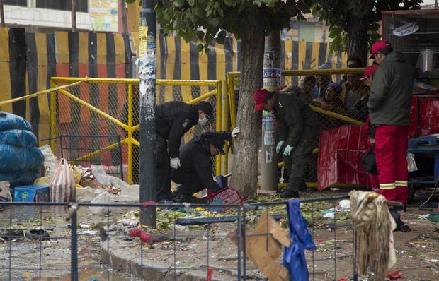 Bolivia Carnival Explosion