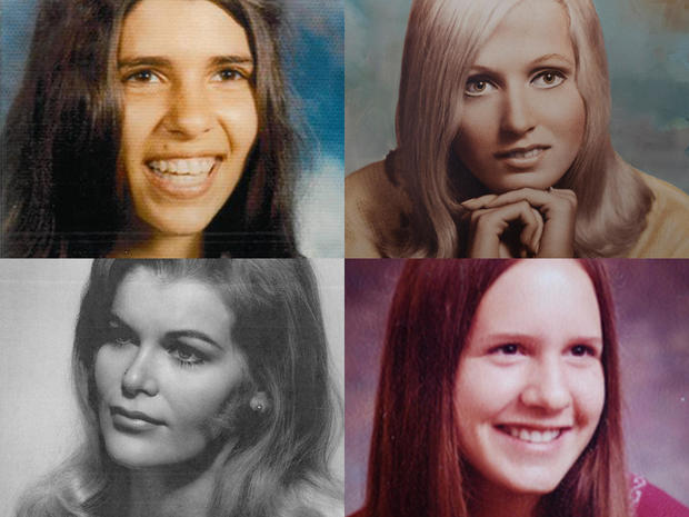 Four of Alcala's L.A. victims