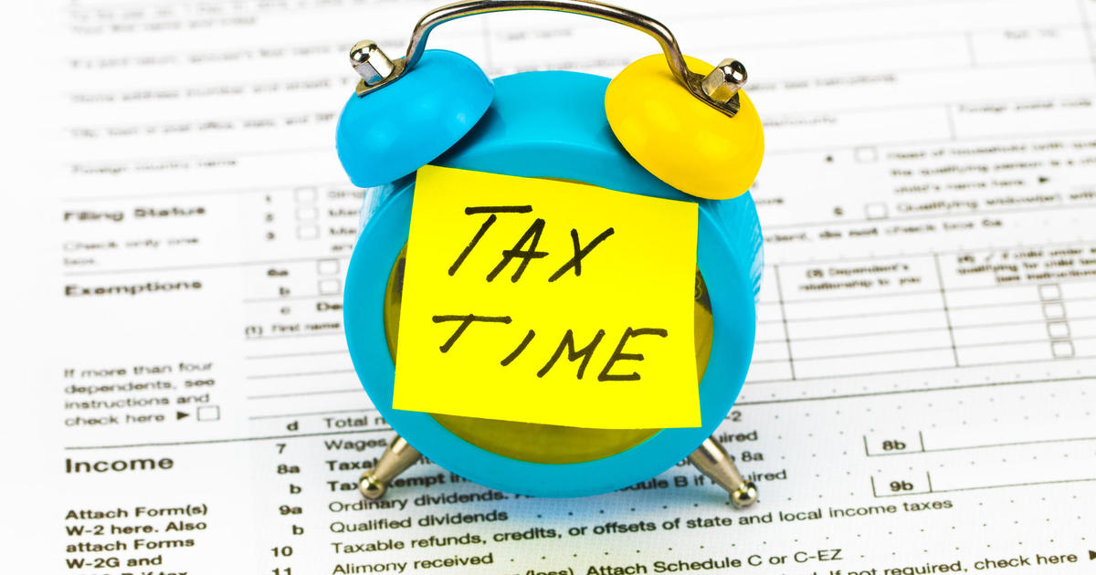 Heres Why You Should Prepare Your Taxes Now Cbs News