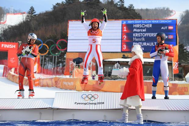 Alpine Skiing - Winter Olympics Day 9