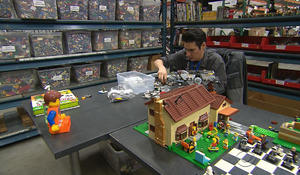 Life once controlled by disabilities, one young man now creates art with Legos