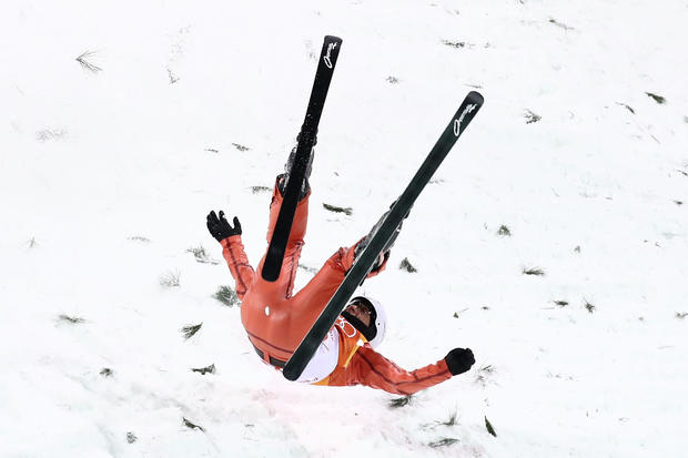 Winter Olympics wipeouts