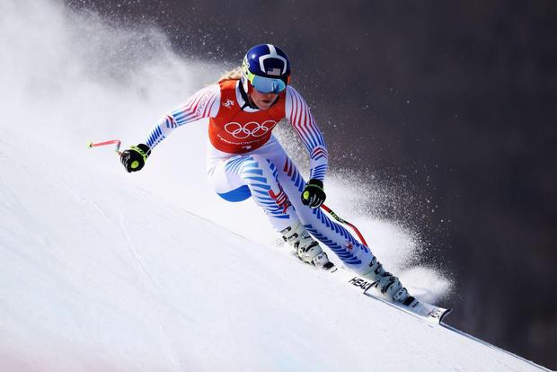 Alpine Skiing Training - Winter Olympics Day 11