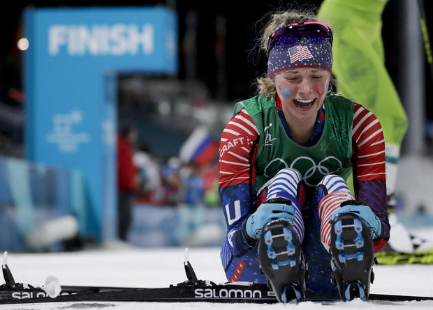 Jessica Diggins -- Pyeongchang Olympics Cross Country Women