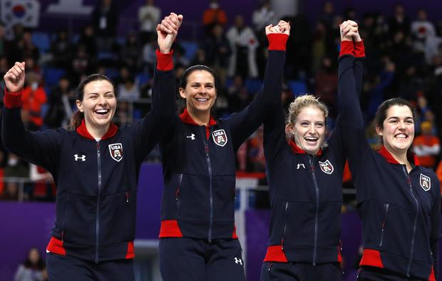 women's team pursuit -- speed skating -- Pyeongchang 2018 Winter Olympics