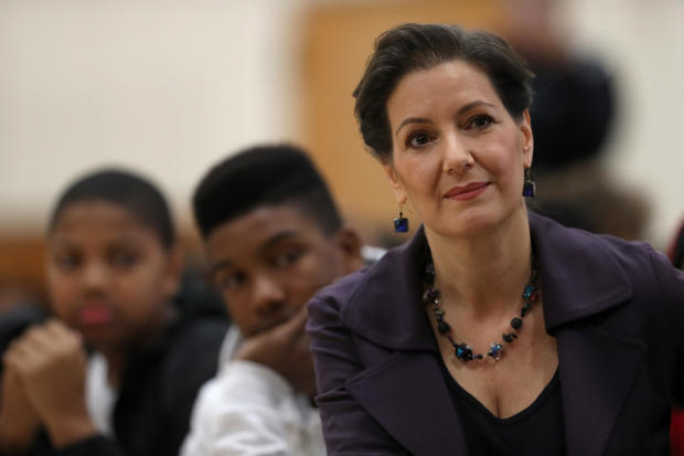 Oakland Mayor Libby Schaaf Discusses U.S. Constitution With School Children