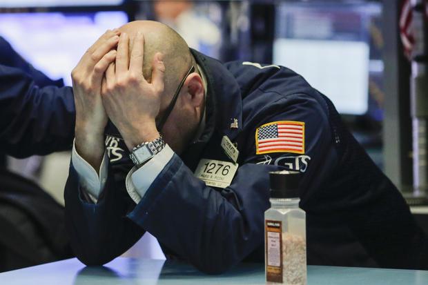 dow plunges trump tariffs