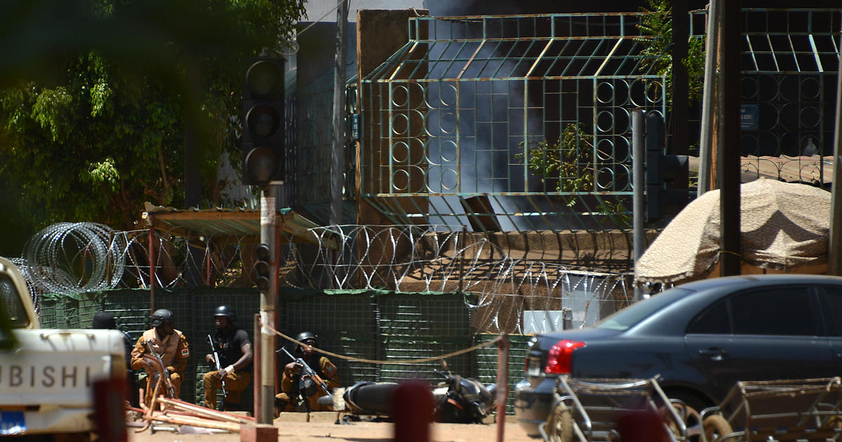 Islamic extremists attack French embassy in West Africa