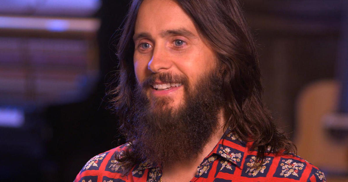 Jared leto on the continuously unexpected cbs news publicscrutiny Gallery