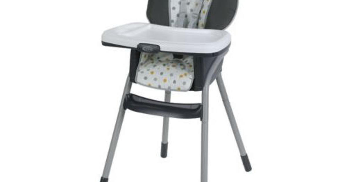 Recall Nearly 40 000 High Chairs Sold At Pose Falling Risk Cbs News