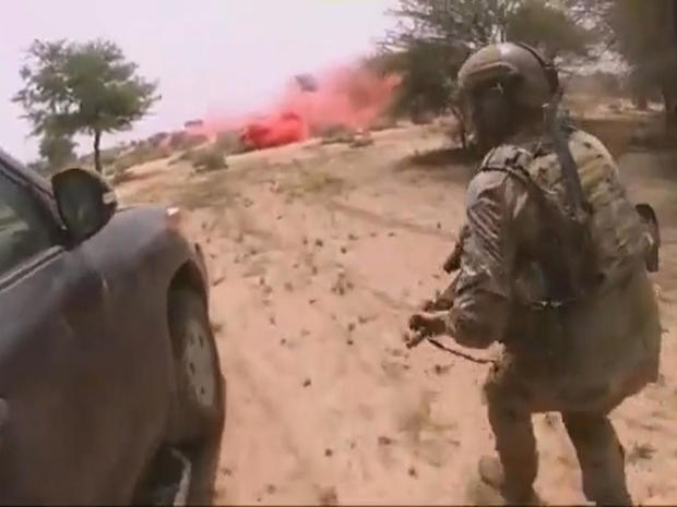 ISIS propaganda video raises questions about deadly mission in Niger