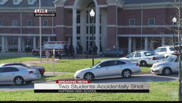 2 students accidentally shot at Huffman High School; 1 dead
