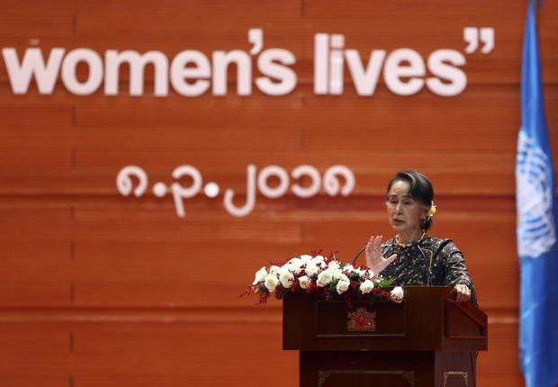 Myanmar International Women's Day