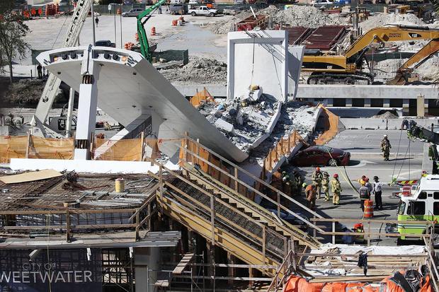 bridge collapse -- florida international university
