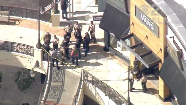 Man shoots wife to death at California mall, turns gun on self