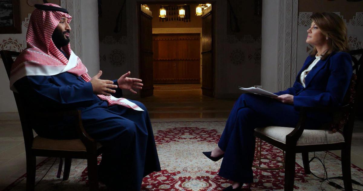 Image result for MUHAMMAD BIN SALMAN INTERVIEW CBS