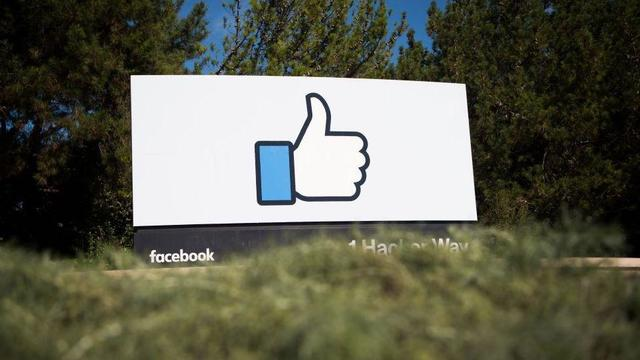 facebook sign menlo park california