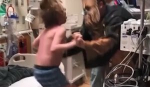 Doctor dressed as Chewbacca has heartwarming news for teen waiting for heart