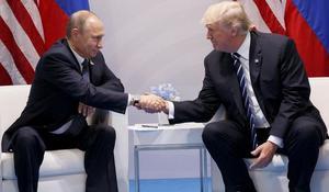 Trump defends decision to congratulate Putin on election victory