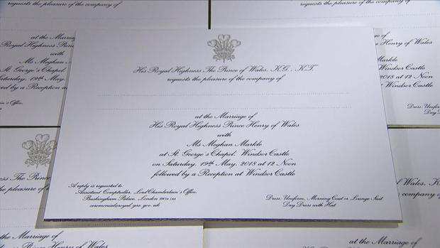 Royal Wedding Invitation Wording: Prince Harry And Meghan Markle's Official Wedding