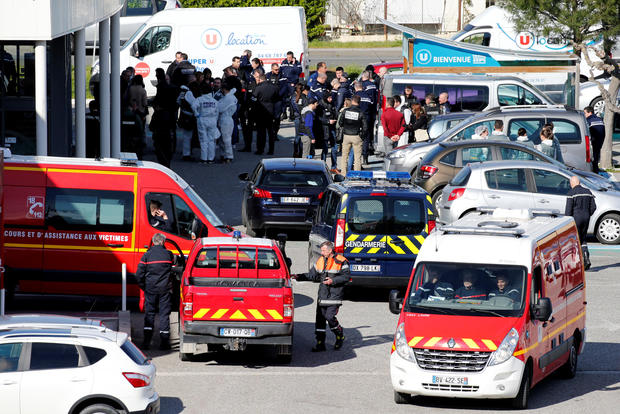 French police officer dies of wounds after terrorist attack on Friday