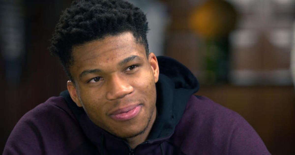 The Greek Freak Giannis Antetokounmpo Milwaukee Bucks Forward 60