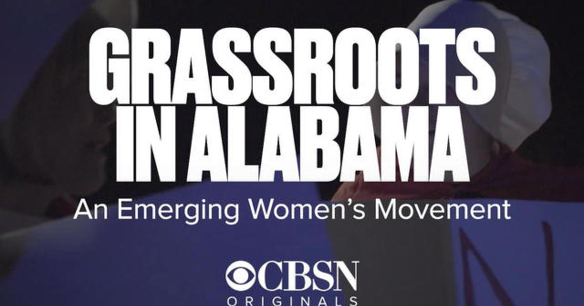 Grassroots in Alabama: An emerging women's movement - CBS News